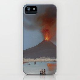 ETNA VOLCANO Sicily Eruption iPhone Case