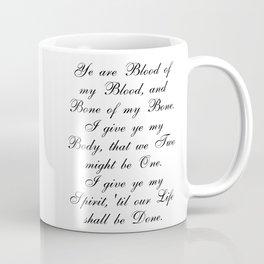 Outlander Wedding Vows Coffee Mug