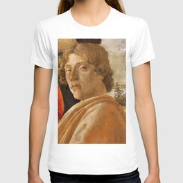 Sandro Botticelli Probable self-portrait of Botticelli, in his Adoration of the Magi (1475) T-shirt