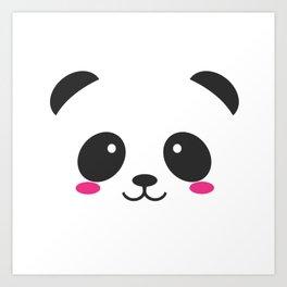 Panda Cute Art Print