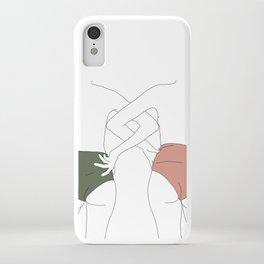 Figures line drawing - Elinor iPhone Case