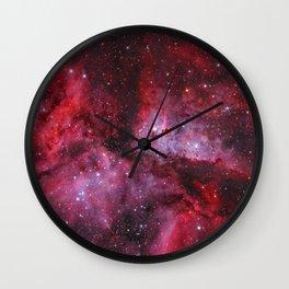 Carina Nebula Milky Way Galaxy Wall Clock