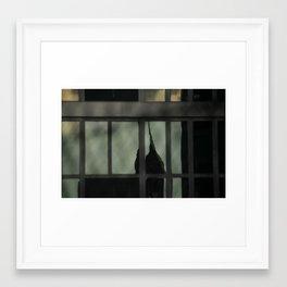 Landmark Reflected Framed Art Print