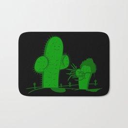 Cactus Scissorhands Bath Mat