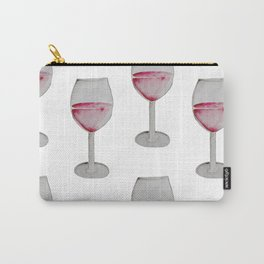 Wine Watercolor. Carry-All Pouch