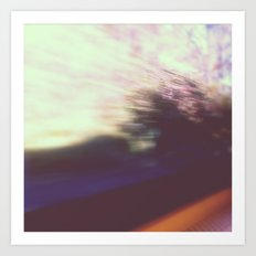 blurred vision Art Print