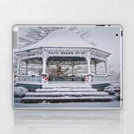 Gazebo in the Snow Laptop & iPad Skin