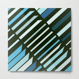 Abstract Composition 504 Metal Print