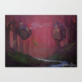 October Dreams Canvas Print