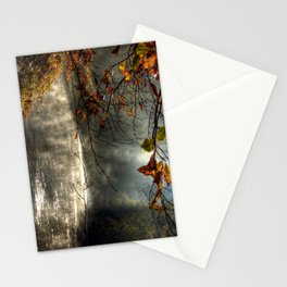 autumn light serenity Stationery Cards