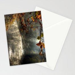autumn light serenity Stationery Cards