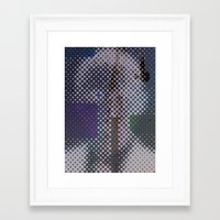 politics Framed Art Prints featuring politics by berg with ice