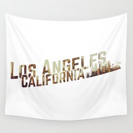 Los Angeles Skyline Wall Tapestry