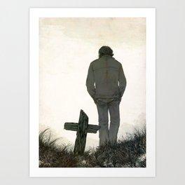 Gone Art Print