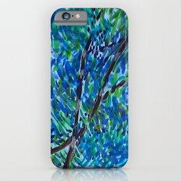 Eucalyptus Swirl iPhone Case