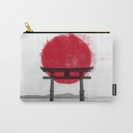 JAPANESE HINOMARU FLAG SIGNS Carry-All Pouch