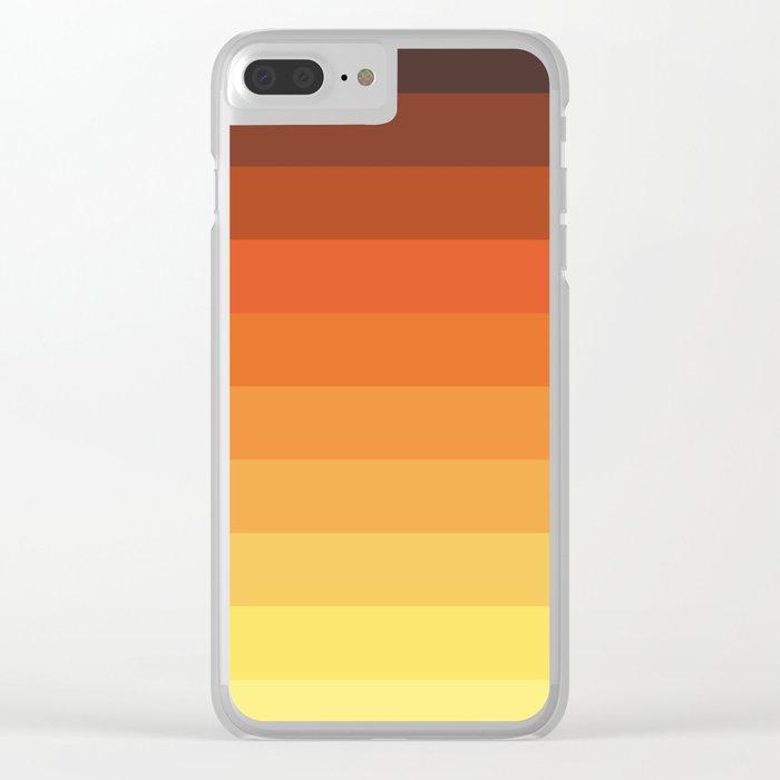 Retro Tlahuelpuchi Clear iPhone Case
