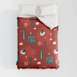 Abstract Nature Design Comforters