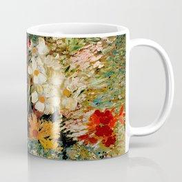 Van Gogh, vase– Van Gogh,Vincent Van Gogh,impressionist,post-impressionism,brushwork,painting Coffee Mug