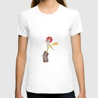ballerina T-shirts featuring Ballerina by Fitacola