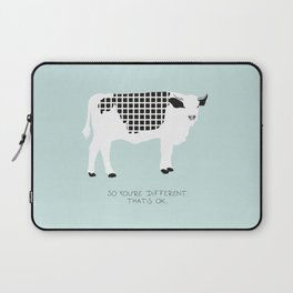Cow with pattern Laptop Sleeve