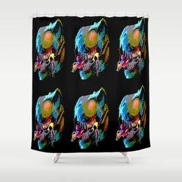 Rex Snack Shower Curtain