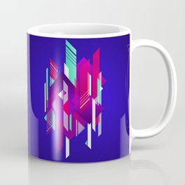 Shattered and Stained Coffee Mug