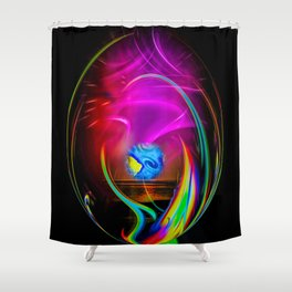 Abstract Perfection -  dreams come true Shower Curtain