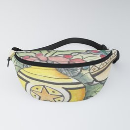 Evergreen and Gold III Fanny Pack