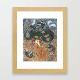 The Thing (From 2010 Horrorwood show at WWA) Framed Art Print