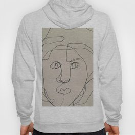 Blind Contour Drawing Hoody