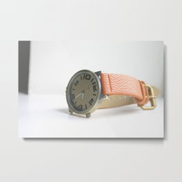 Time Piece Metal Print