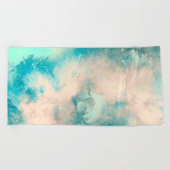 Cotton Candy Sky Beach Towel