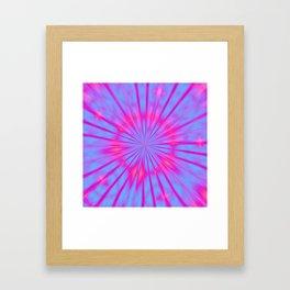 Magical Tie Dye Framed Art Print