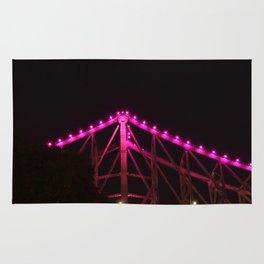 Pink Bridge Lights Rug