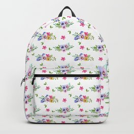 Tiny Flowers Ditsy Floral Backpack