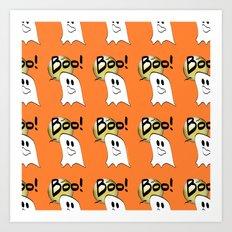 Ghosts Say Boo Art Print