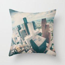 Downtown Throw Pillow
