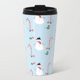 Frosty The Snowman Metal Travel Mug