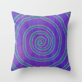 Sprial Throw Pillow