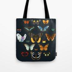 Entomology Vintage Butterfly Tote Bag