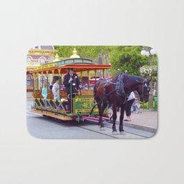 Horse-Drawn Trolley I Bath Mat