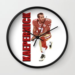 Kaepernick Wall Clock
