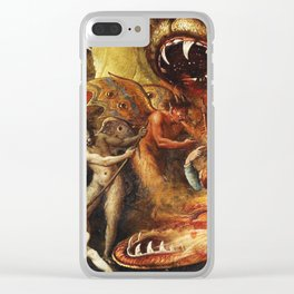 Demons and creatures Clear iPhone Case