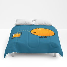 Orange Juice Comforters