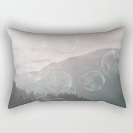 Dreamy Outdoor Mountain Landscape Rectangular Pillow