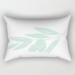 Olive Branch Rectangular Pillow