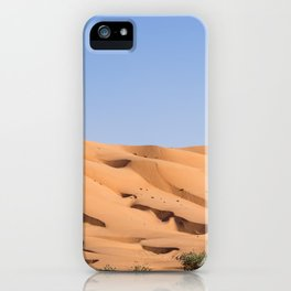 Wahiba Sands desert - Oman iPhone Case