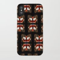 givenchy iPhone & iPod Cases featuring Givenchy mask by cvrcak