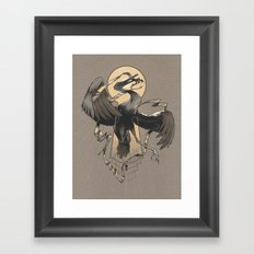 Flight of the Keybirds Framed Art Print